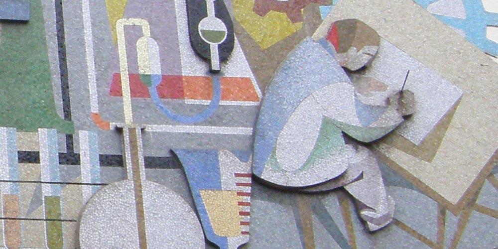 Mural del Centro Educativo